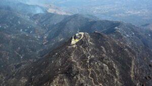 Así quedó el Cerro Pan de Azúcar